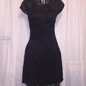 Miami S Black Lace Dress